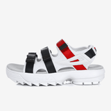 FILA Disrupter 2 Sandal White/Navy/Red FS1SPB2012X_WNR