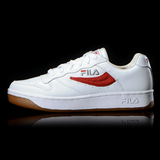 FILA F-X-100 LOW RED SQUARE WHITE AND RED