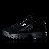 FILA HERITAGE DISRUPTOR II ALL BLACK