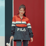 FILA QUARTER JACKET DARK/RED FS2JKA3001X_DRD