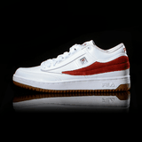 FILA T-ONE MID RED SQUARE WHITE AND RED