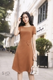 SYO-Đầm lật nơ-AMORA DRESS