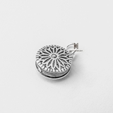 C FLOWER LOCKET
