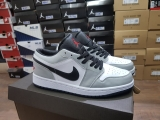 Giày Jordan 1 Low Light Smoke Grey