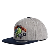 FEOFMCA61 Nón Snapback FELTICS DISNEY MONSTER MIKE BOARD size S - Xám/ Navy