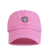 FELTICS POINT LABEL CAP PINK