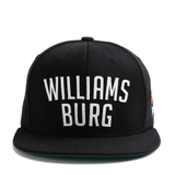 FELTICS WILLIAMS BURG SNAPBACK BLACK