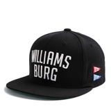 [outlet] Nón hiphop FELTICS WILLIAMS BURG black
