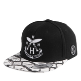 HVPE DEATH FLAG SNAPBACK BLACK
