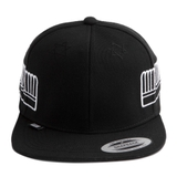 [outlet] Nón hiphop HVPE WINGS black