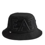HVPE DEATH FLAG BUCKET HAT BLACK