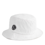 HVPE KNIFE PATTERN BUCKET HAT WHITE