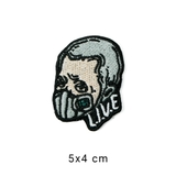 Patch ủi LIVE ICONIC MAN MASK M051