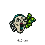 Patch ủi LIVE ICONIC MONEY FACE