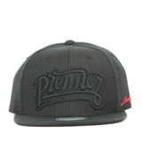 Nón Snapback PREMI3R Limited One line PM013 (Full đen)