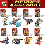 minifigures super heroes