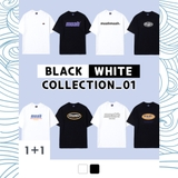 [ORDER] FLASH SALE - MUAH BLACK - WHITE COLLECTION TEE
