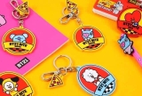 [ CÓ SẴN] - BT21 KEYRING BITE OFFICIAL