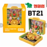 [ ORDER] - BT21 WORLD TOUR TOY FIGURE OFFICIAL