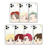 [ ORDER] - BTS CASE MOTION FACE CLEAR SOFT OFFICIAL