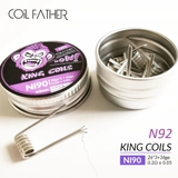 Hộp 10 Coil Ni90 - King Coils COIL-FATHER - Dây dẫn nhiệt DIY, build coil, trở