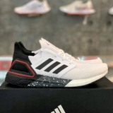 adidas ULTRA BOOST 20 'WHITE/BLACK-SCARLET'