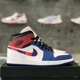 NIKE AIR JORDAN 1 MID SE 'MULTI-COLOR SWOOSH'