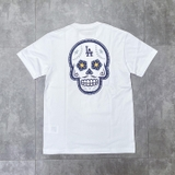 MLB Tee NewEra Washington White Skull