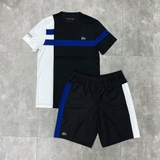 Lacoste Bộ Tennis Pique White/Black/Blue