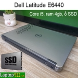 Laptop cũ Dell E6440 core i5 ổ SSD
