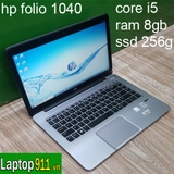 laptop HP Folio 1040 G1 i5 4300 ram 8gb ssd 256gb