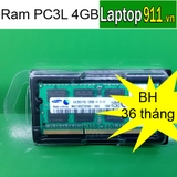 Ram laptop 4gb PC3L Samsung