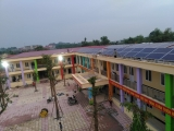 Solar PV Co Bi primary shcool(Gia Lam)/Co Bi 小学校(Gia Lam県)VIETNAM