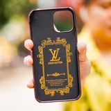 Ốp lưng da LV MONOGRAM cho iPhone 12