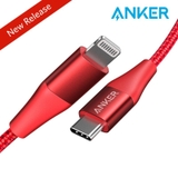 Cáp Anker Powerline +II C to Lightning A8652 0.9m