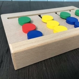 FOUR COLOR GAME Montessori Four Colors Game Matching