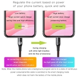 Cáp sạc iPhone tự ngắt thông minh Baseus C-Shaped Light Intelligent Power-Off Cable