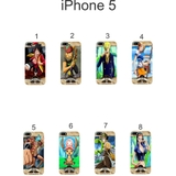 Ốp lưng iPhone 5 dẻo in hình OnePiece