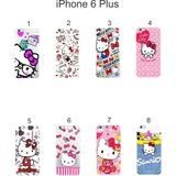 Ốp lưng iPhone 6 Plus dẻo in hình Kitty