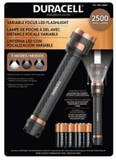 Đèn pin Duracell 2500 Lumens Variable Focus LED Flashlight