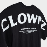 ClownZ Basic Over Shoulder T-shirt - Black