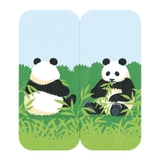Two Forked Sticky Note - 3560-005 - Panda