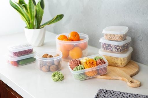 Bộ hộp thực phẩm vuông Hokkaido tiện dụng trong quá trình sử dụng