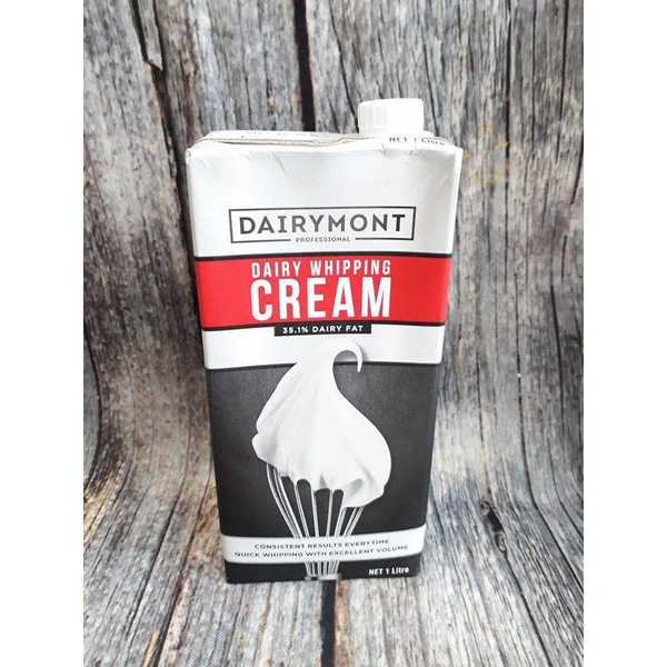 Whipping cream Dairymont 35,1% 1L