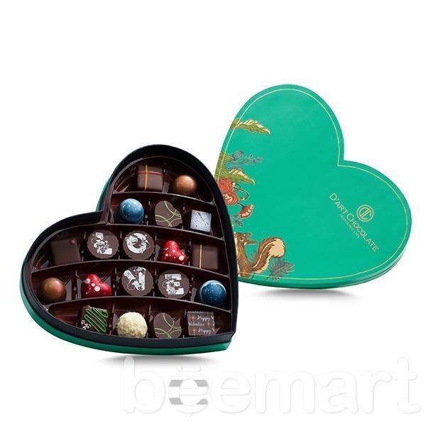 Hộp Socola Valentine trái tim 19 viên tươi 1