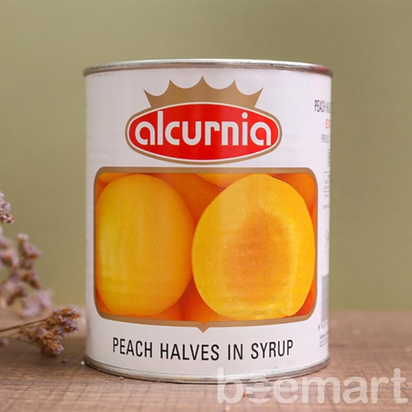 Đào ngâm Alcurnia 850gr 1