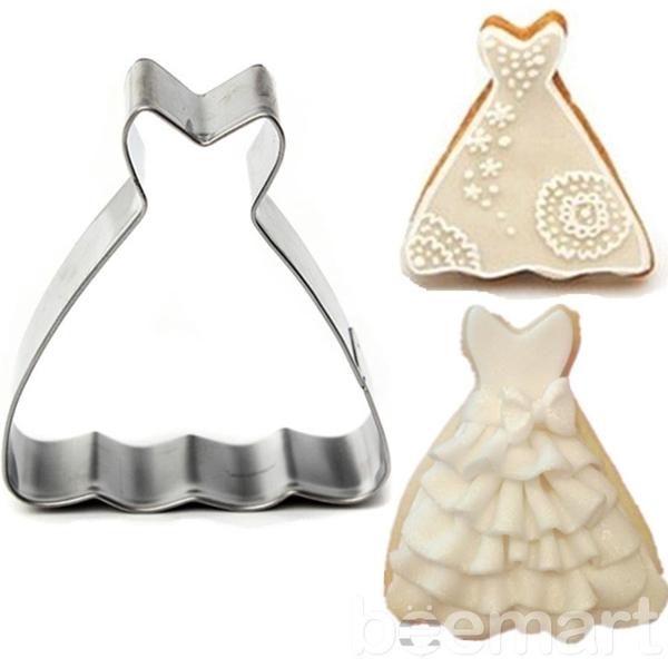 Khuôn cutter hình chiếc váy 4