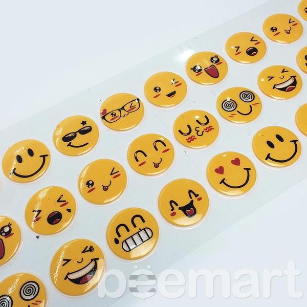Khuôn socola 2D 27 hình icon mặt cười 1