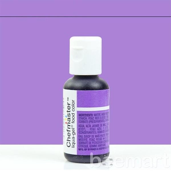Màu tím violet 5140 Chefmaster 0,7oz