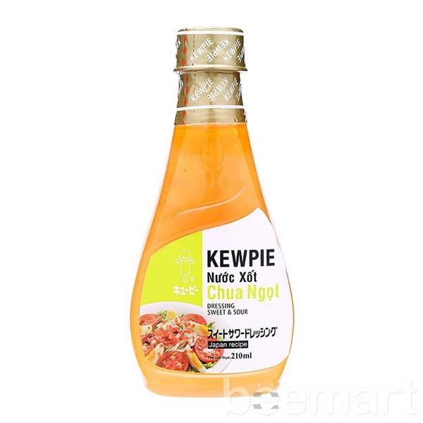Nước Xốt Chua Ngọt Kewpie 210ml